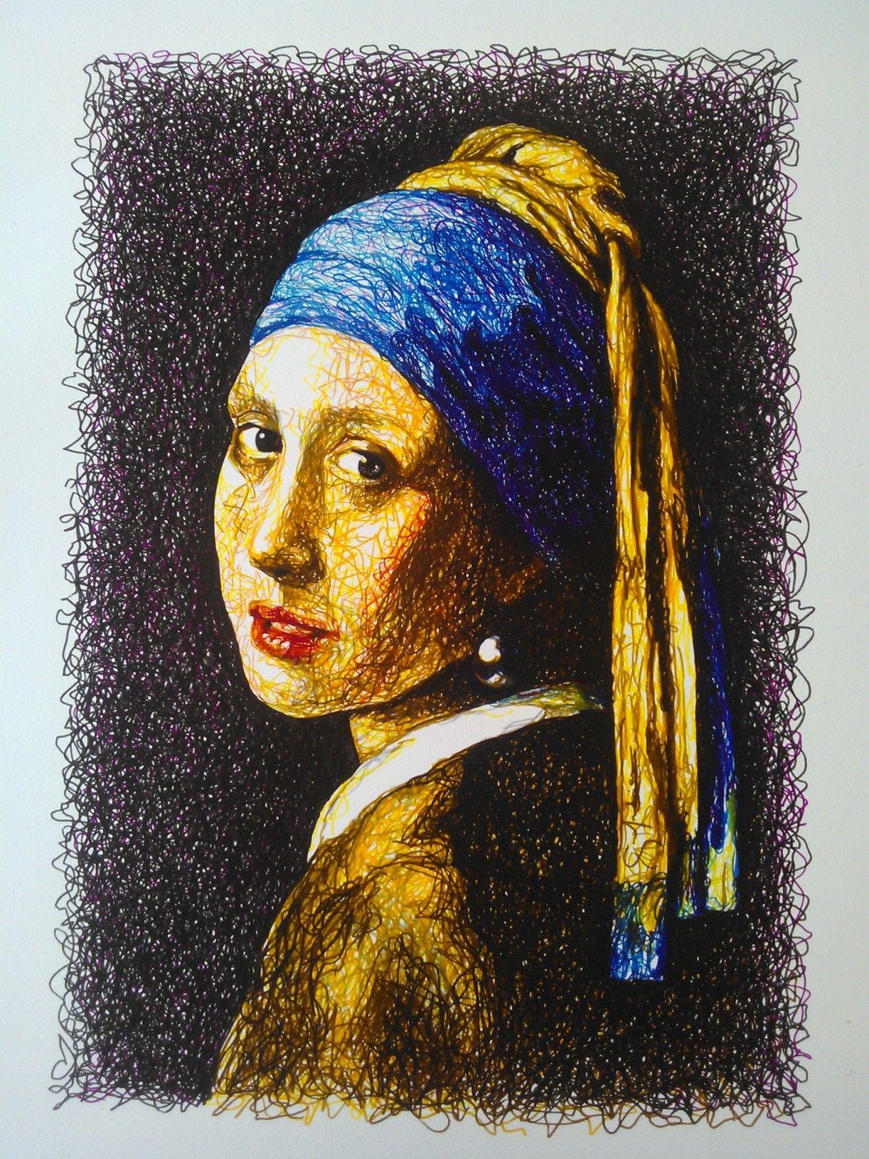 Vermeer - Moça com Brinco de Pérola (do meu jeito)