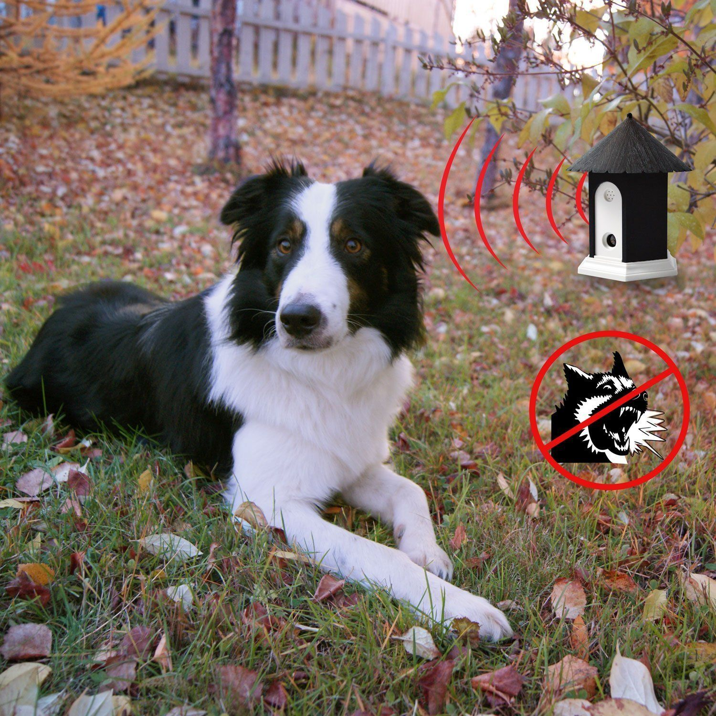 Sporer Ultrasonic Anti Bark Off Limiter Outdoor Dog Bark Silencer