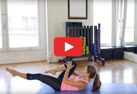 The 30-Minute Pilates Workout for Stronger Abs #pilatesvideo