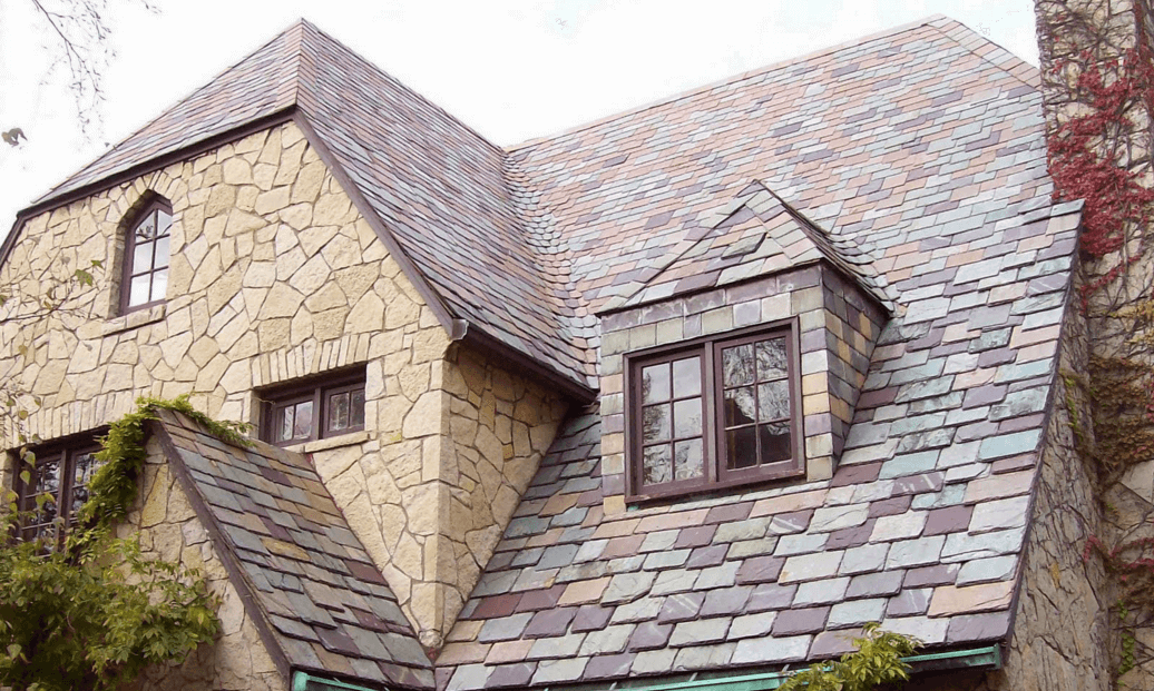 2018 Slate Roof Cost Color Options Pros Cons Slate Roof Cost Slate Roof Roof Cost