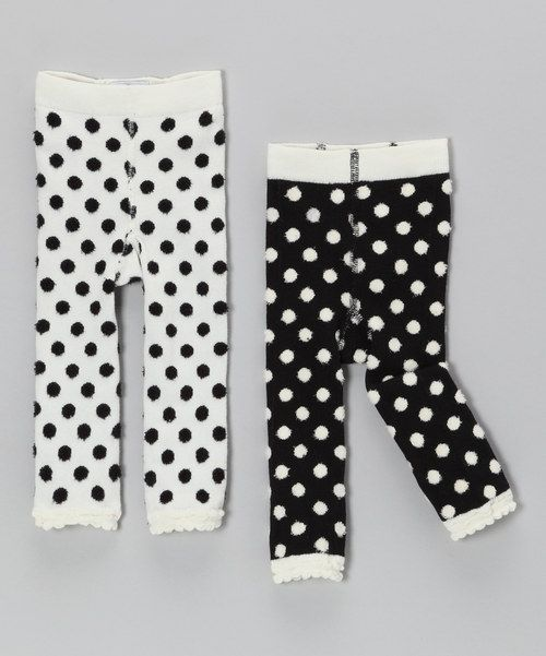 9272d2277e4fb Polka dot baby leggings, I need these for my daughter for winter, too cute!