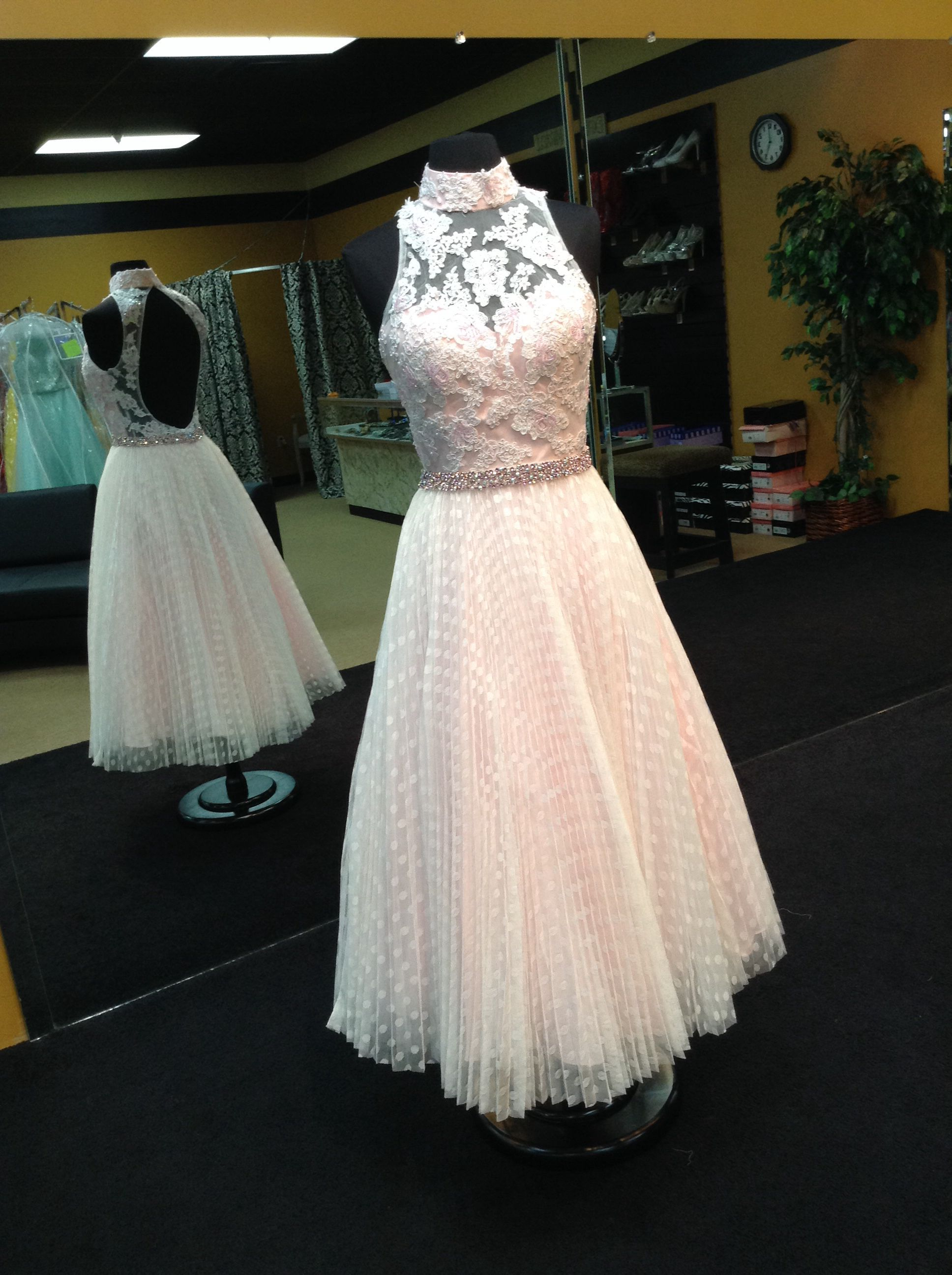 Alyce paris prom dress style this delicate lace pastel