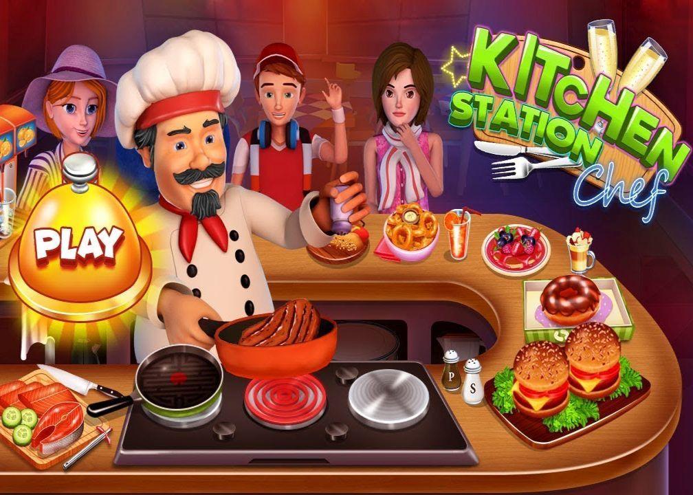 Kitchen Station Chef Cooking Restaurant Tycoon Money Mod