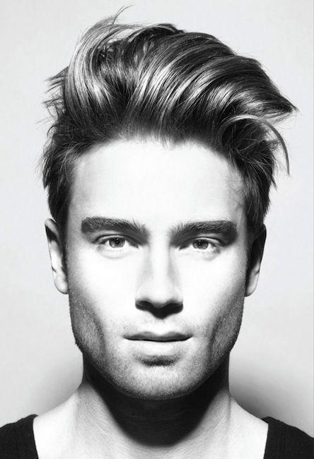 Peinados Para Hombres Con Pelo Liso Cuando Vas A Una Peluqueria - Peinados-hombre-pelo-liso