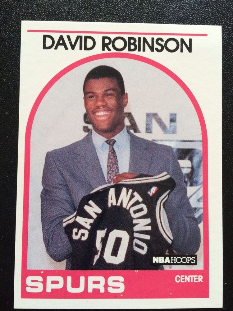 David robinson 19891990 nba hoops danny green