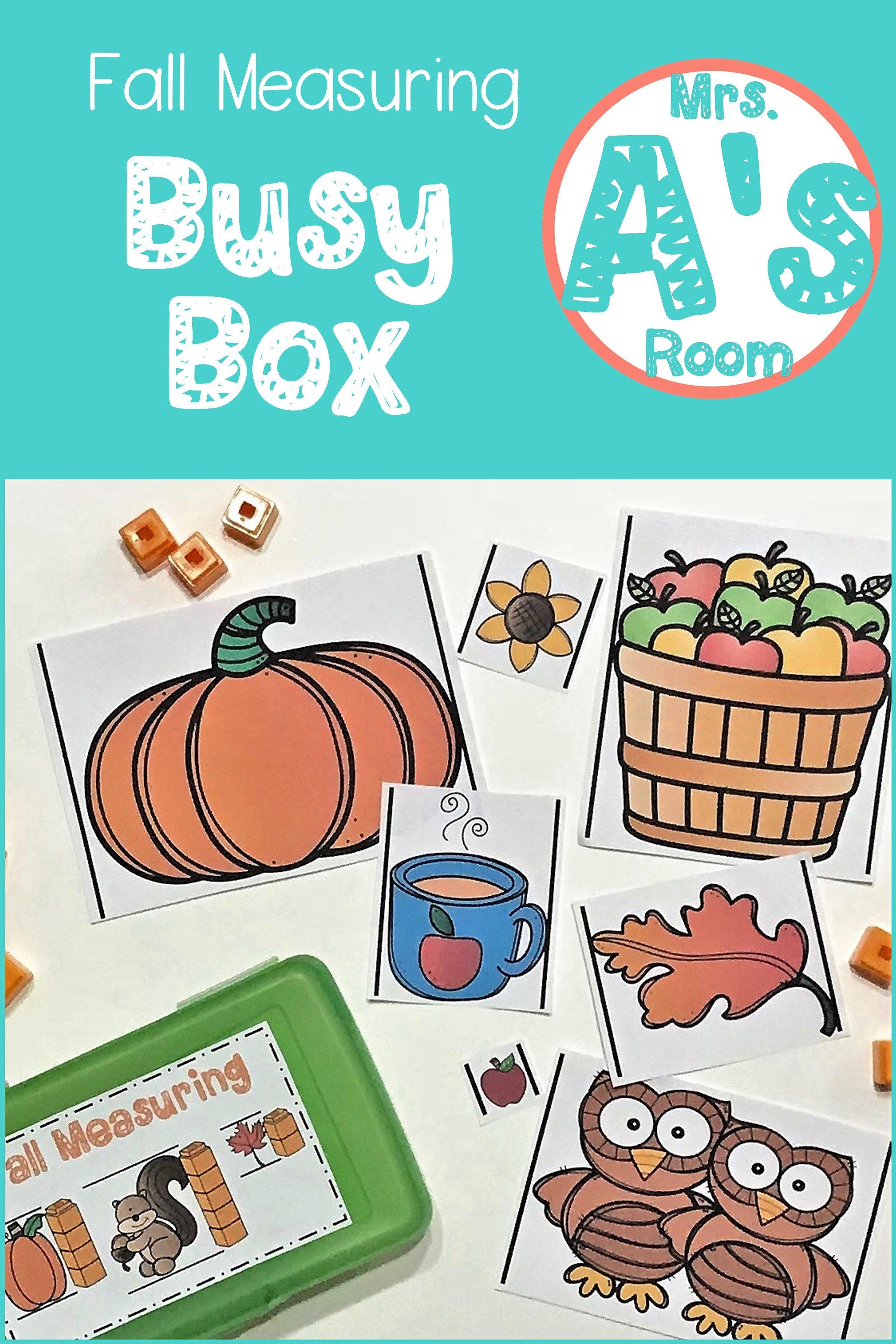 Fall Measurement Busy Box