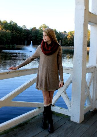 Cozy Infinity Scarf – Downtown Betty Boutique
