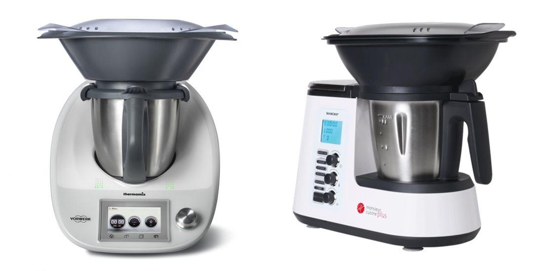 Las diferencias entre thermomix y monsieur cuisine plus for Robot cocina silvercrest