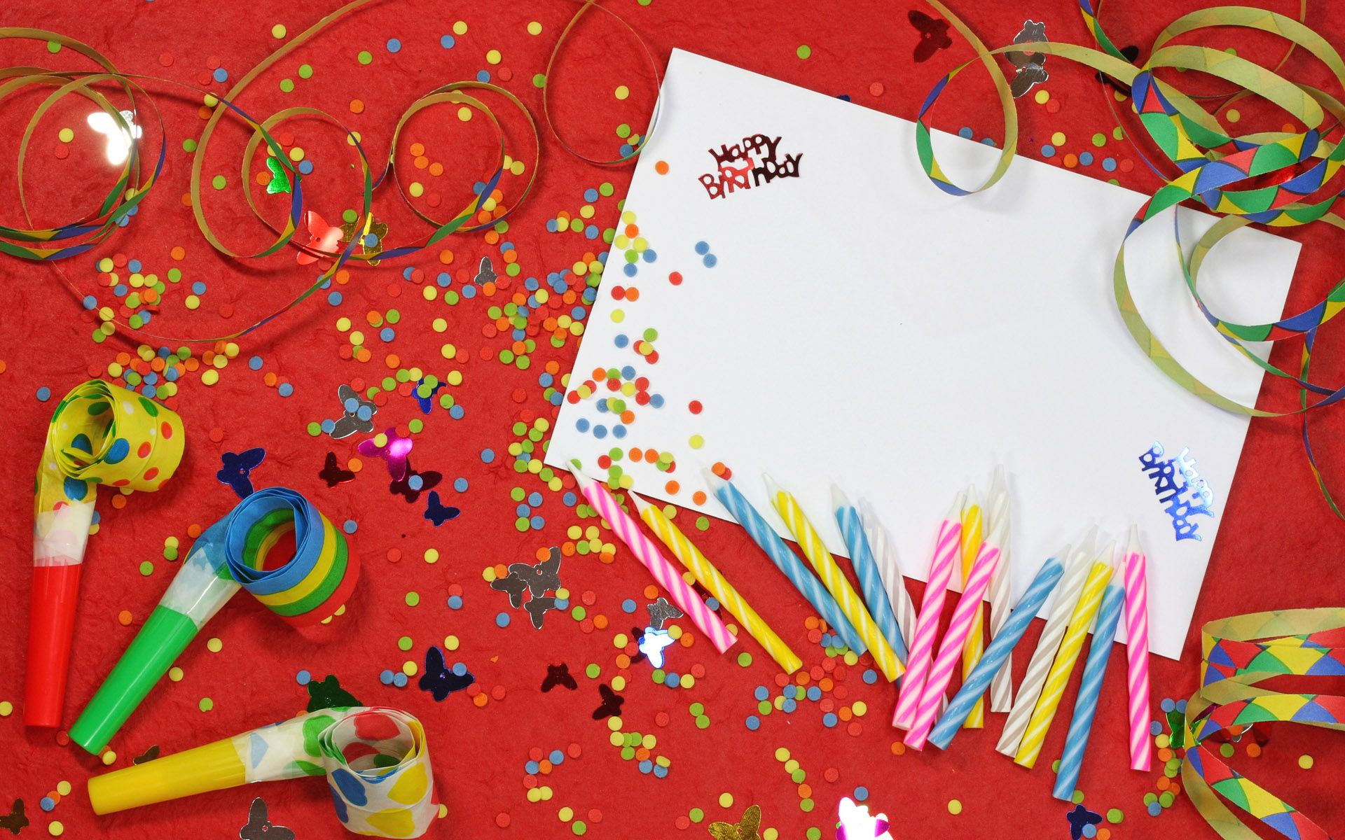 Happy Birthday Card Party