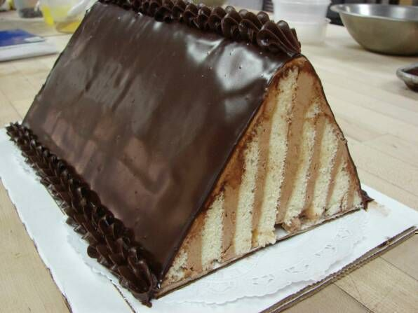 Seven Layer Cake Triangle