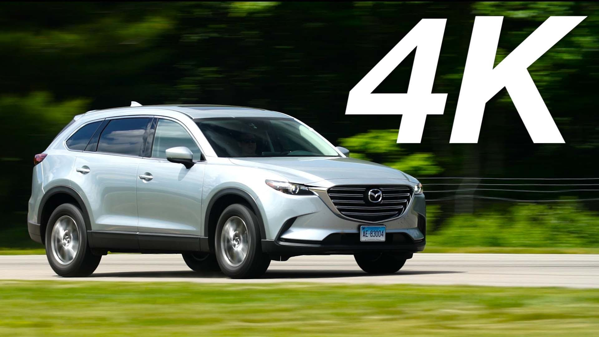 Most affordable three row SUVs are mundane to drive but the Mazda