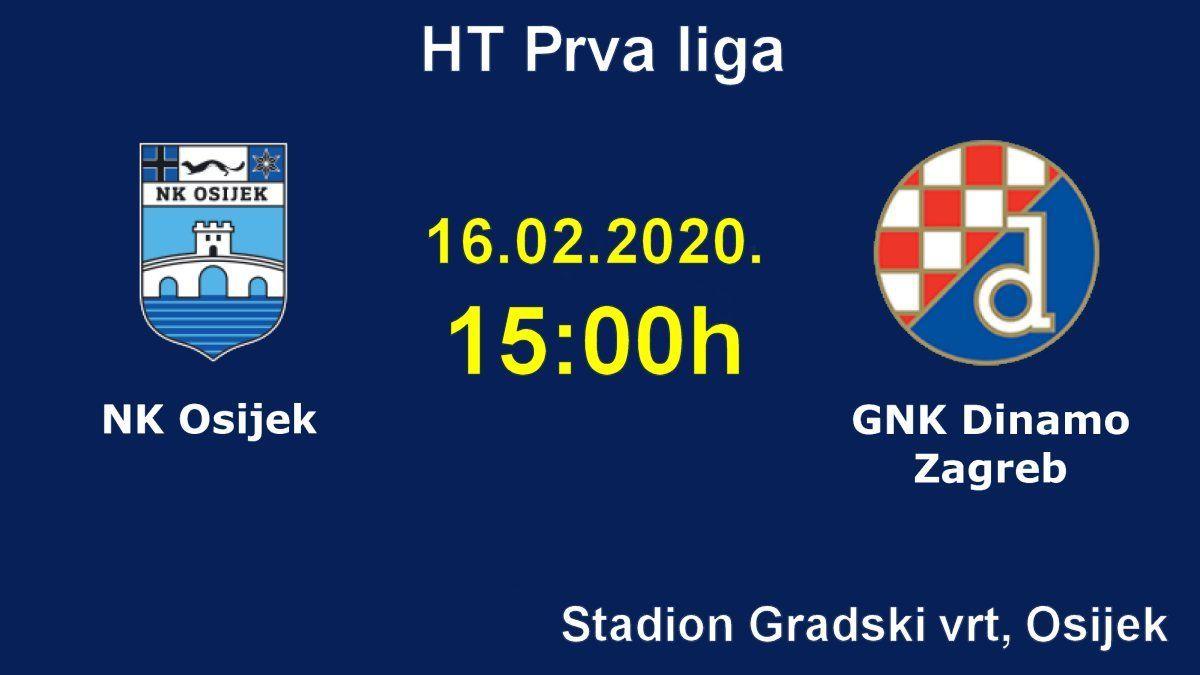Uzivo Osijek Dinamo I Gdje Gledati Live Stream 1 Hnl Nogomet Derbi U Gradskom Vrtu Racunalo Com In 2020 Osijek Sport Online Rijeka