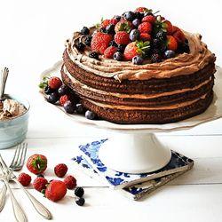 Bolo de aniversrio food Pinterest Cake Chocolate