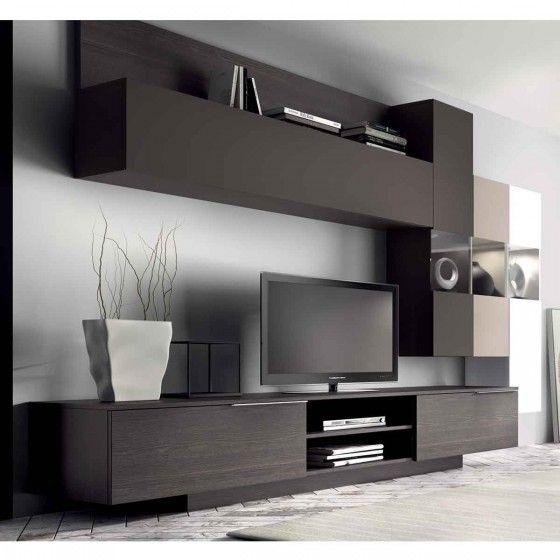 meuble mural tv design dania atylia proyectojl pinterest tvs murals and design. Black Bedroom Furniture Sets. Home Design Ideas