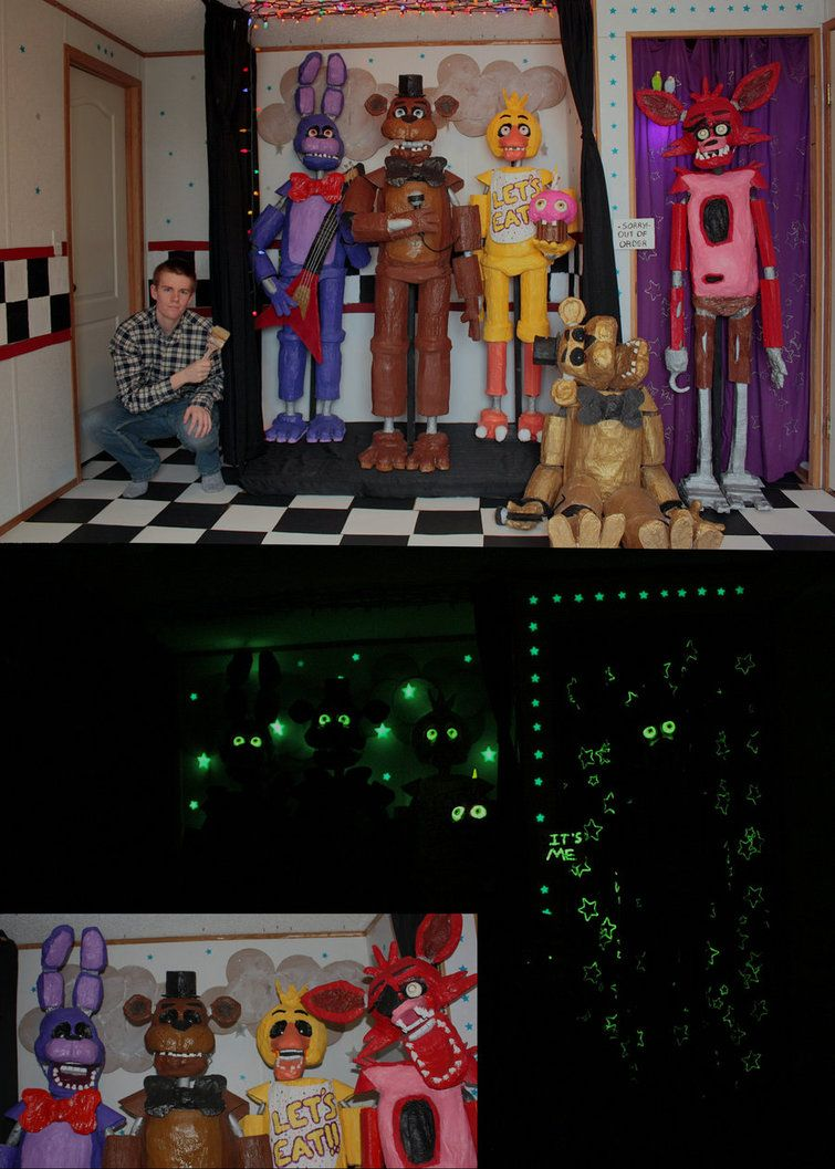 Five Nights At Freddy S In Real Life By Tommygk Deviantart Com On