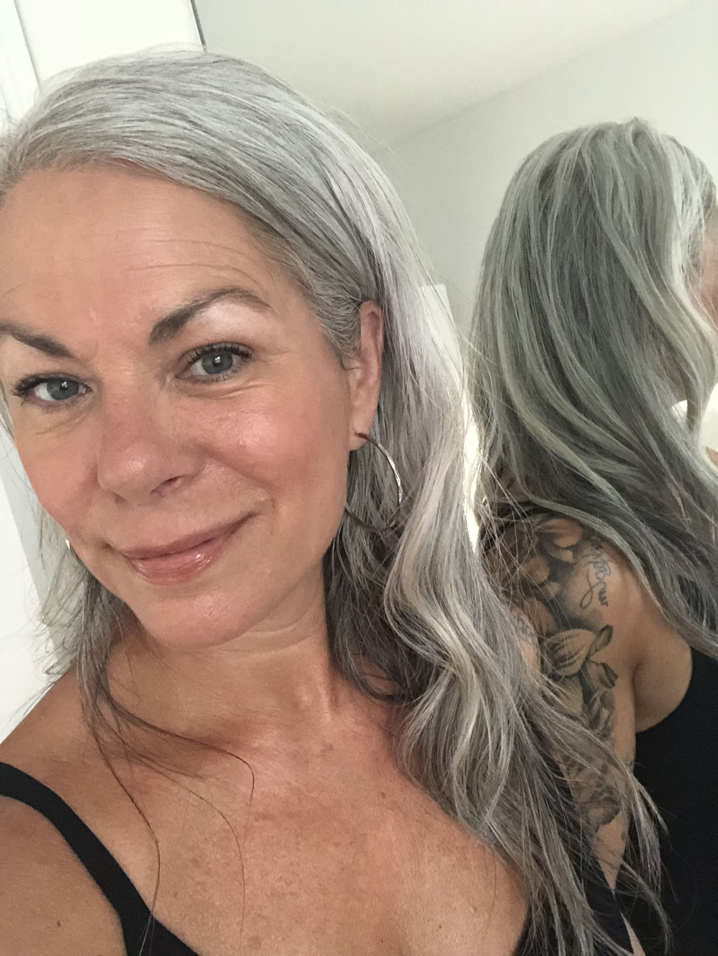 Pin by Karen Mcgarvey on great gray hair!   Gray hair ...