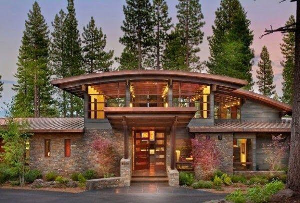 Resultado de imagen para fachadas de casas rusticas de madera
