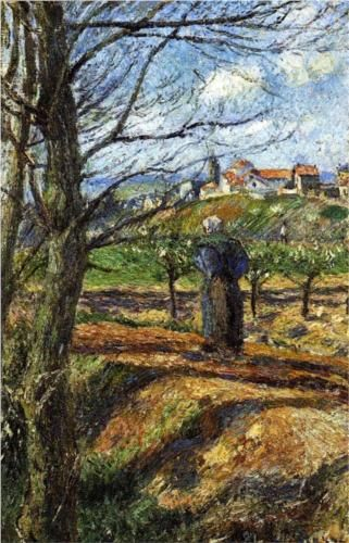 Near Pontoise - Camille Pissarro.  Professional Artist is the foremost business magazine for visual artists. Visit ProfessionalArtistMag.com.