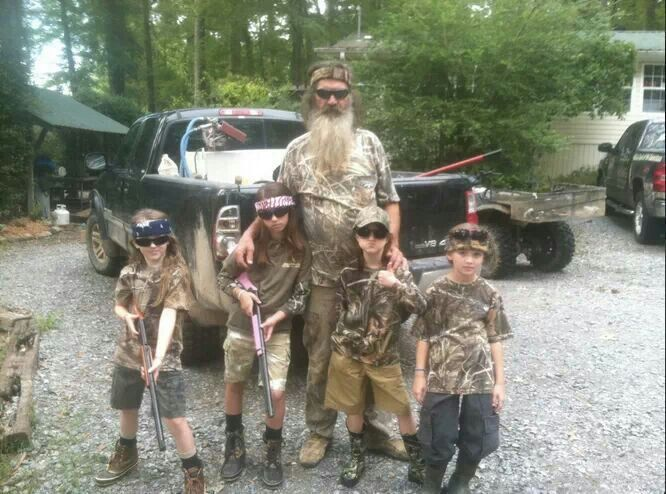 Phil and his grand kids