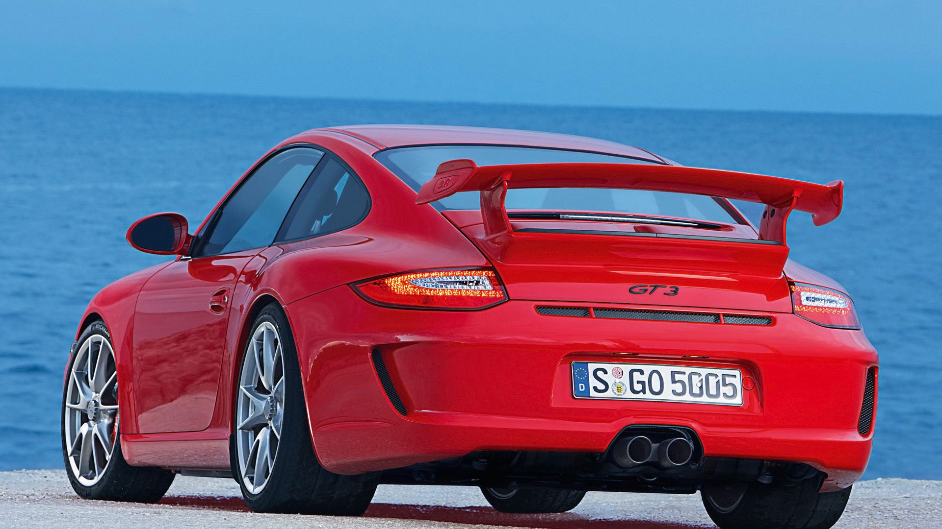 Red Car,blue Water · Porsche 911 ...