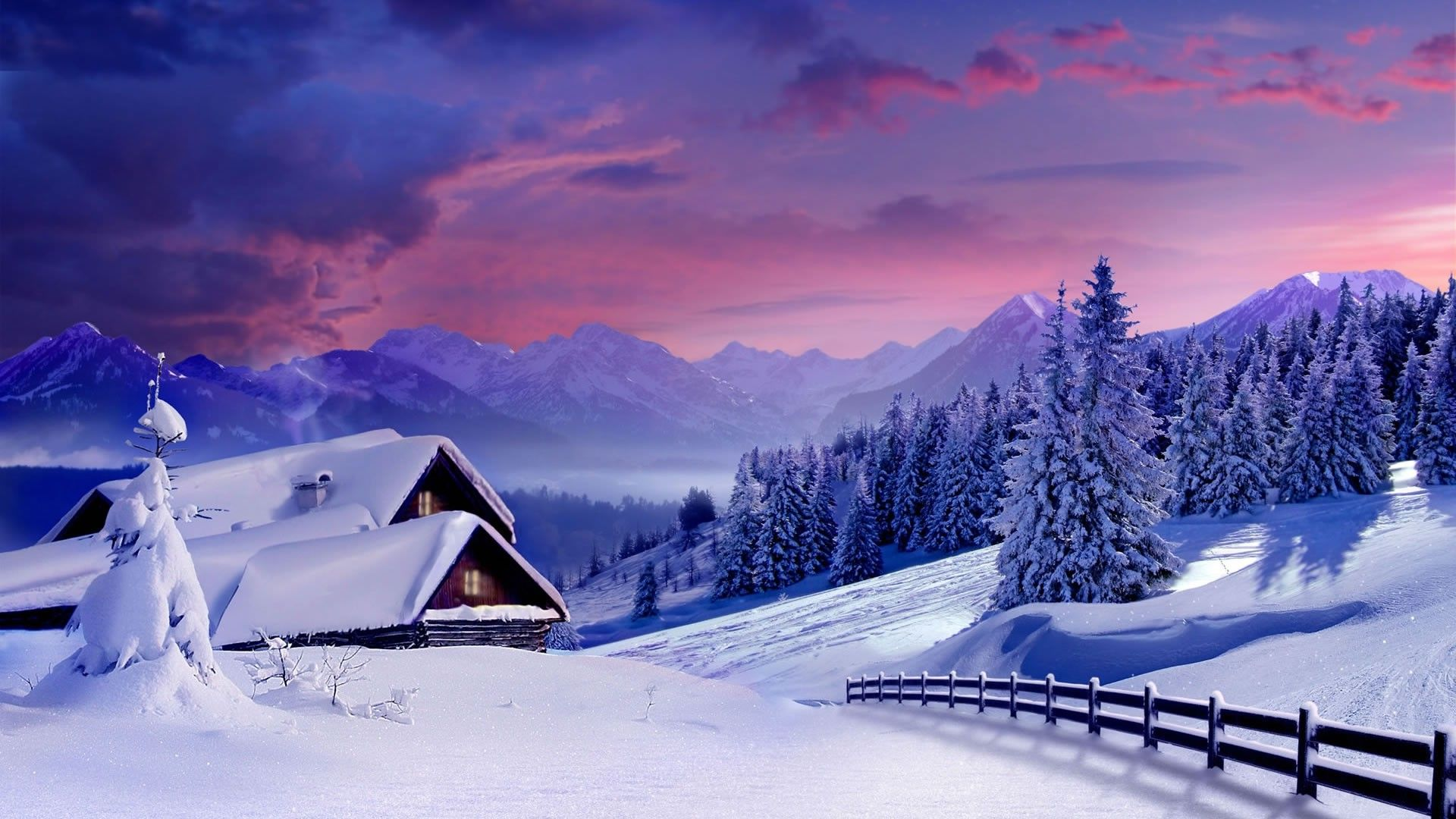 Winter Landscape Wallpaper Full Hd Wallpapers Backgrounds Landscape Wallpaper Landscape Background Winter Landscape