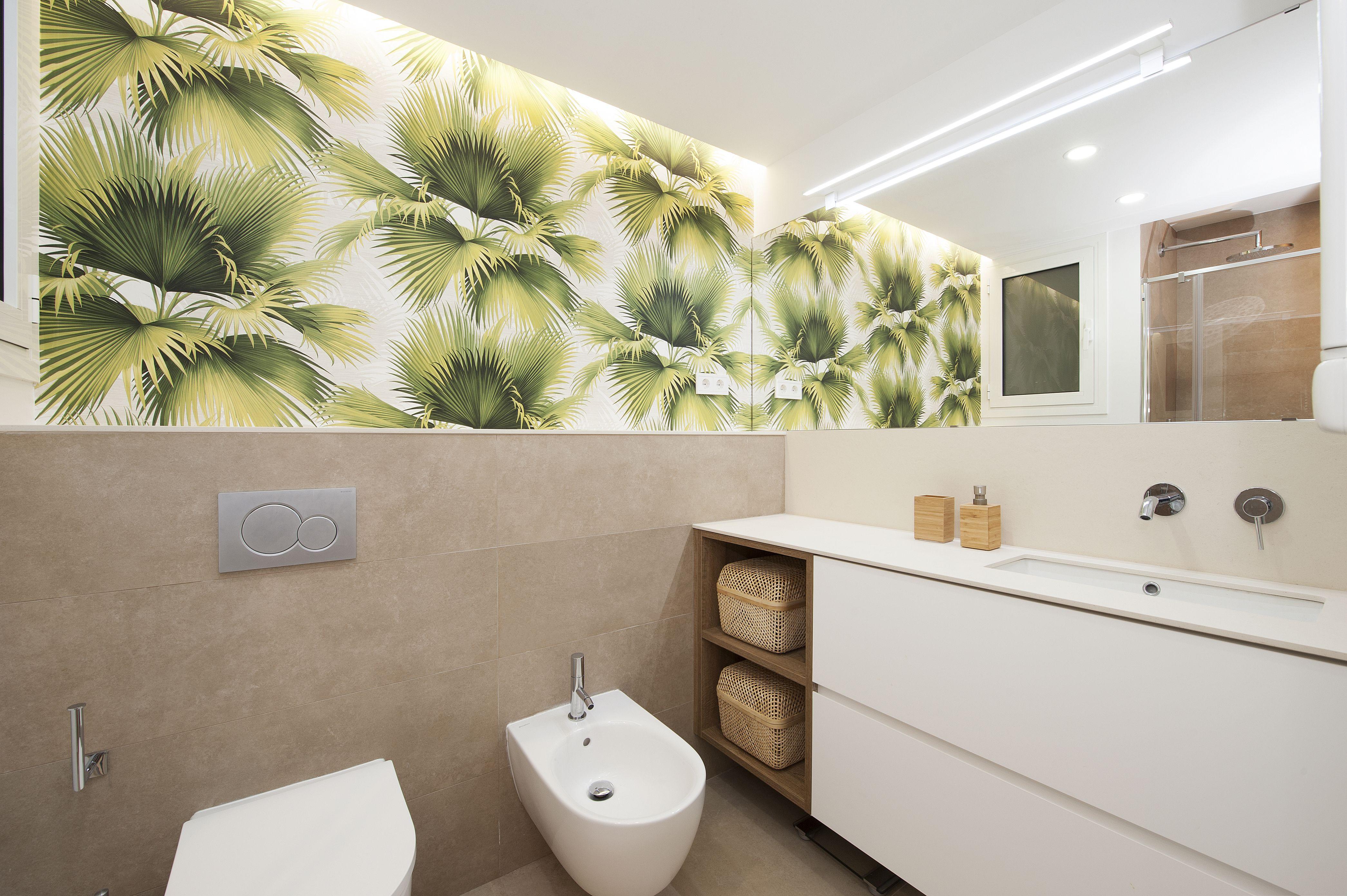 Baño moderno | Reforma de piso Sincro | Pisos, Lavabos ...