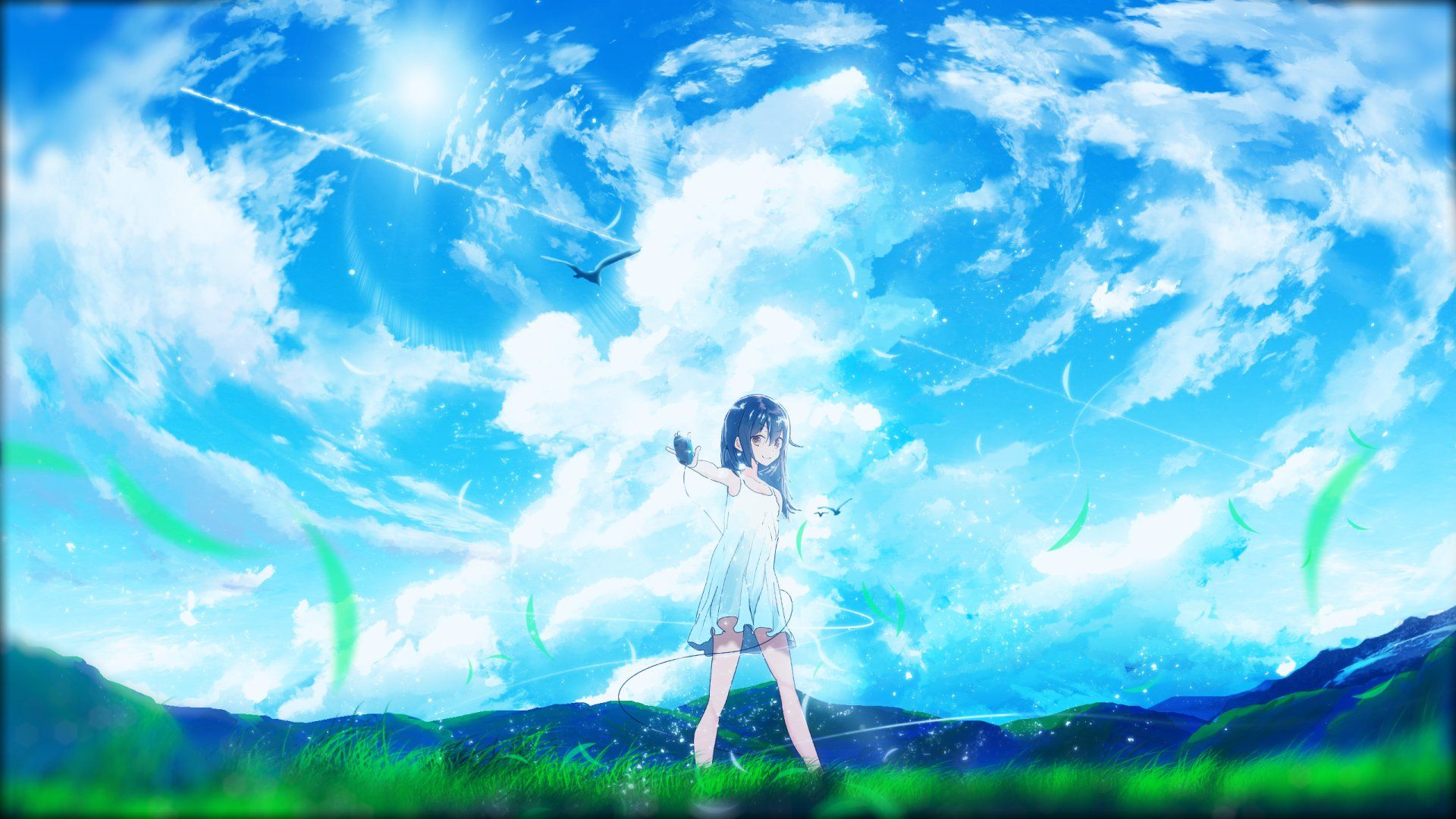 2560x1440 Original Wallpaper Background Image View Download Comment And Rate Wallpaper Abyss In Anime Scenery Cool Anime Pictures Background Images