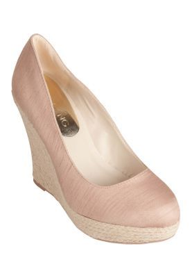 Christy Ng - Beach Party Nude Espadrille Wedge Pumps ($190)  http://ZALORA.com.my