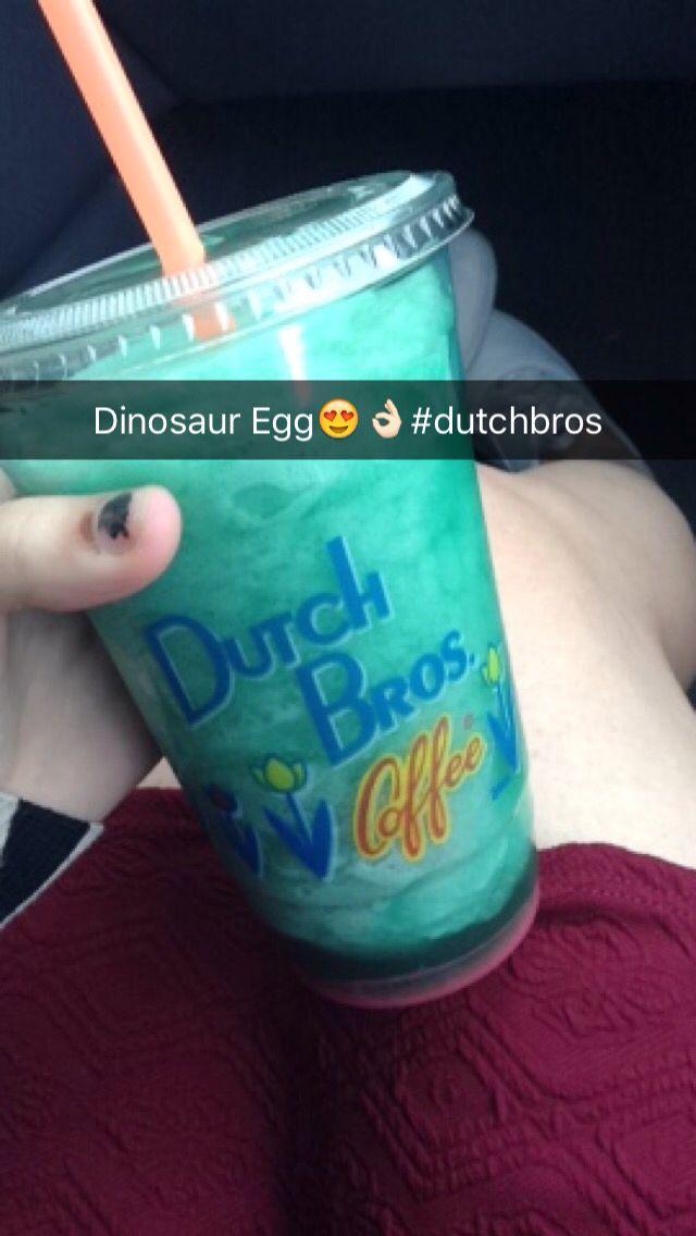Dutch Bros Blended Rebel Dinosaur Egg #dutchbros