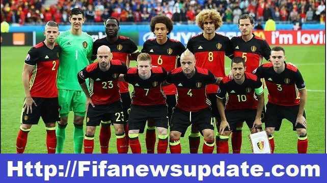 Fifa World Cup 2018 Team How 32 Teams Qualified For Fifa Wc Russia World Cup 2018 Teams Uefa European Football Championship Belgium Team
