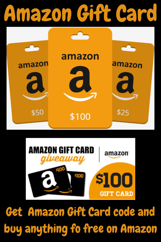 Amazon Gift Cards Get Amazon Gift Card Code And Buy Anything For Free On Amazon Amazon Gift Card Free Free Gift Card Generator Amazon Gift Cards