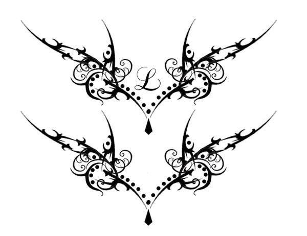 Gothic Vamp Lower Back Tat By Quicksilverfury On Deviantart Lower Back Tattoo Designs Lower Back Tattoos Back Tattoo