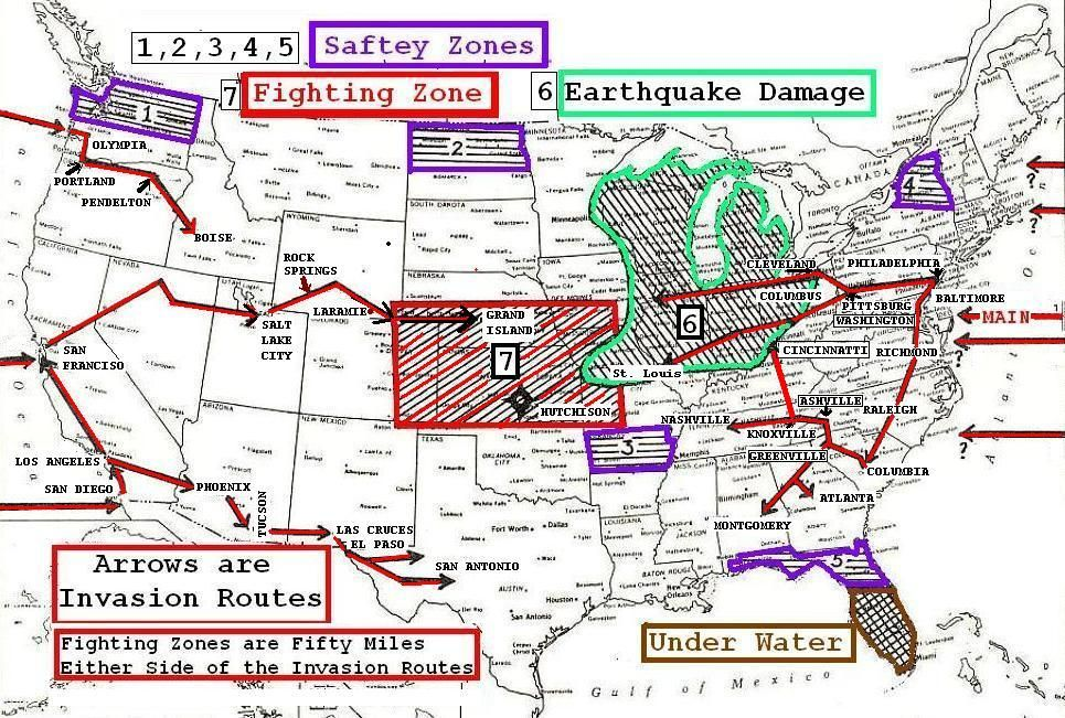 United States Fault Lines Maps Survival Primer Dot Com Chicago - Fault line map us