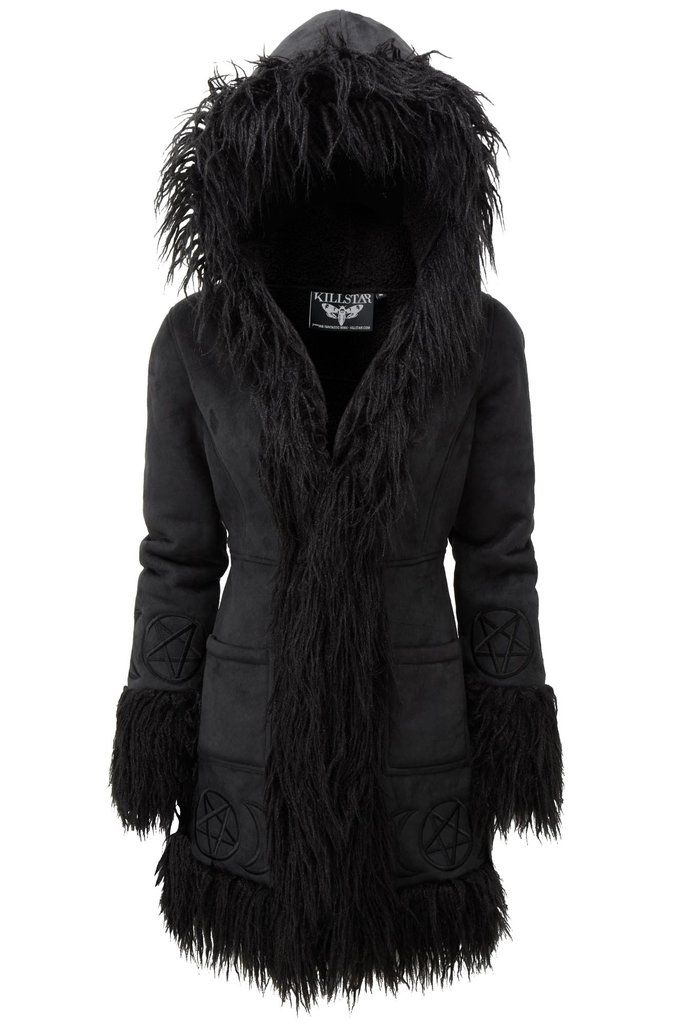 b5c34c4654 Die Anna Almost Infamous Shearling Coat