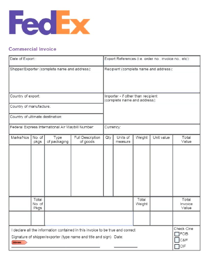 Commercial Invoice Template Word Doc Fearsome Ideas For International Shipping Invoice Template 10 Prof Invoice Template Word Invoice Template Word Template