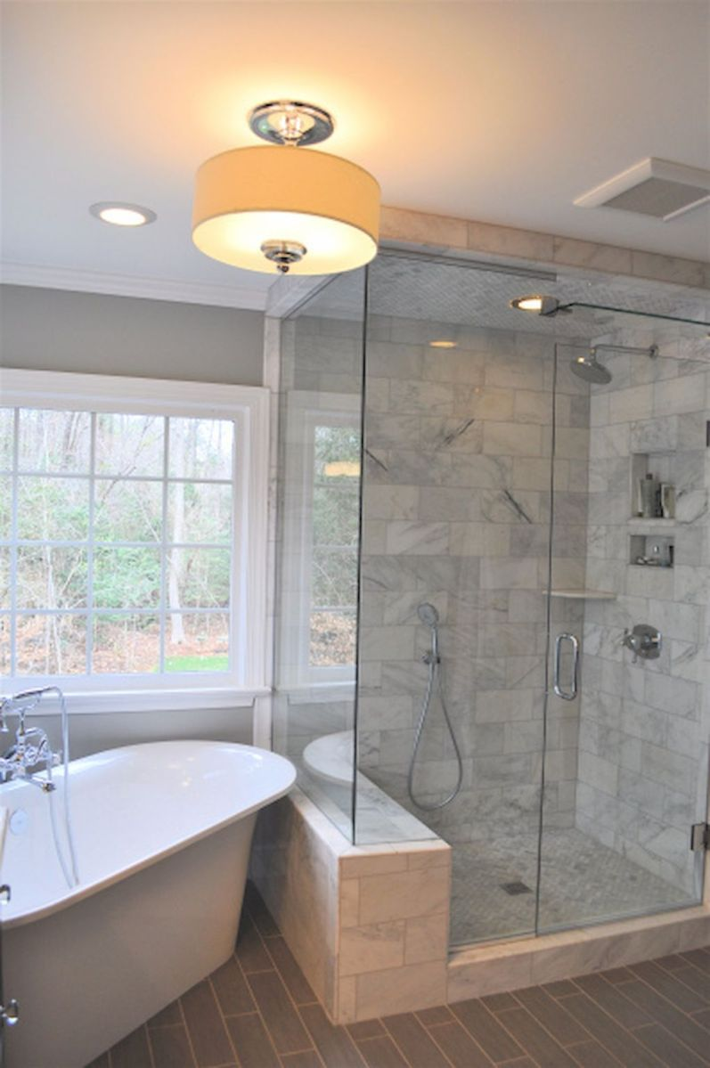 Wonderful Efficient Small Bathroom Shower Remodel Ideas (3)
