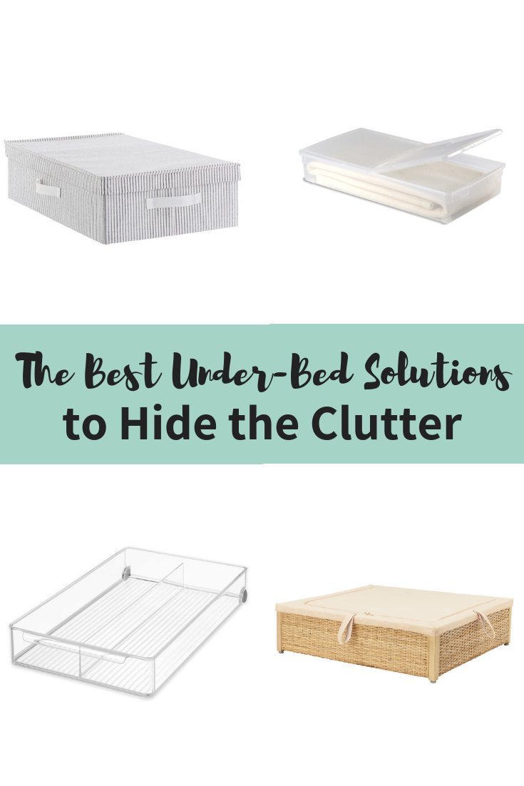 The Best Under Bed Storage Solutions To Hide The Clutter Under