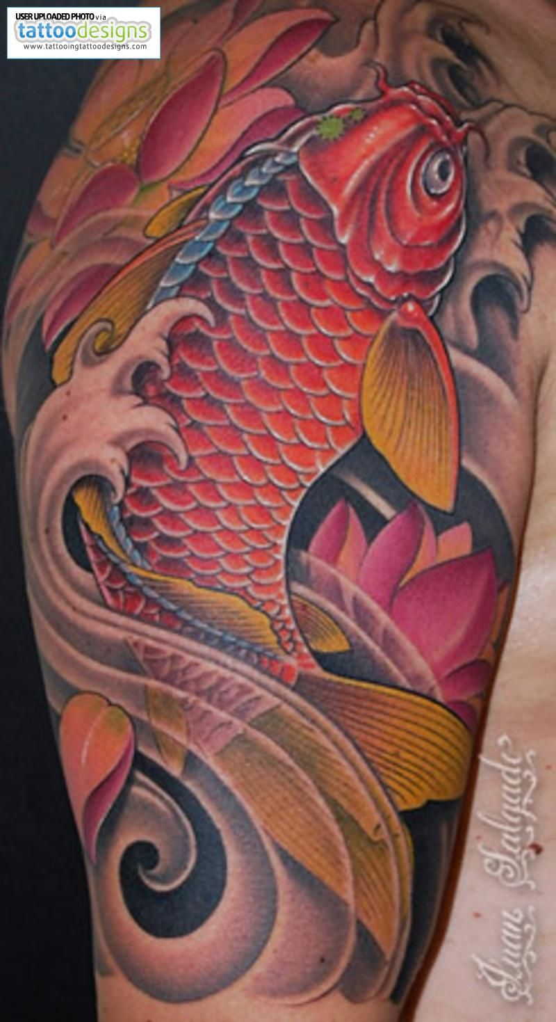 Koi Fish Tattoo For Men Designs - Images for Tatouage