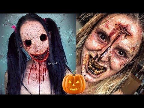 scary halloween makeup tutorials special effects makeup