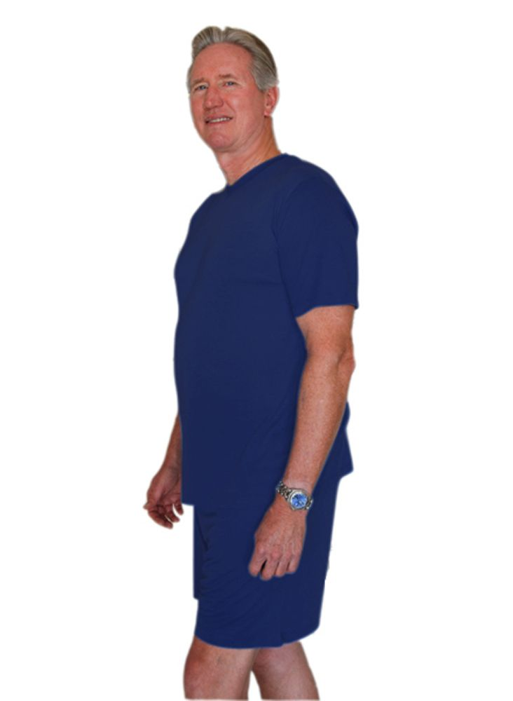 Men s Wicking Night Sweat Pajama Set  4a56ea727