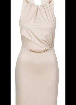 Kleid creme 40