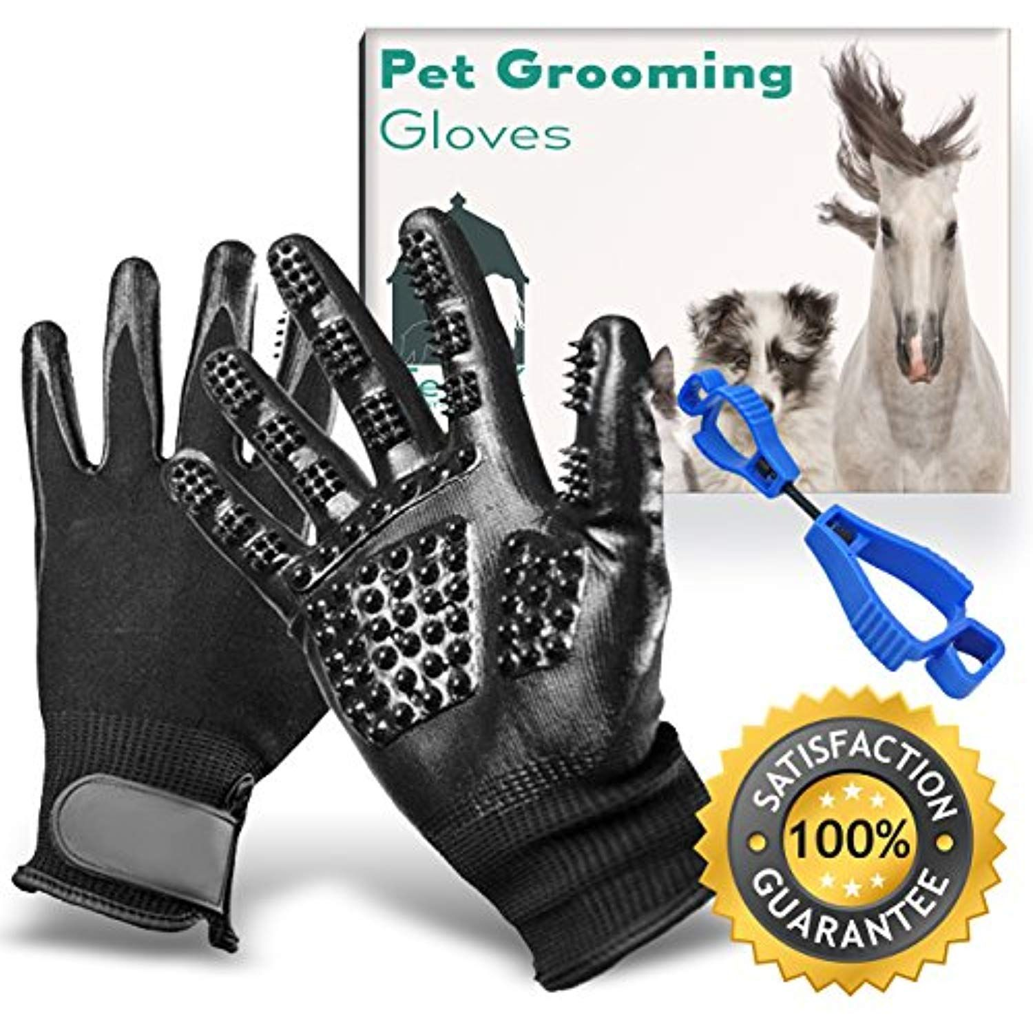 Pet Grooming Glove,Pet Grooming Gloves,Pet Grooming Glove Set For Dogs Horses