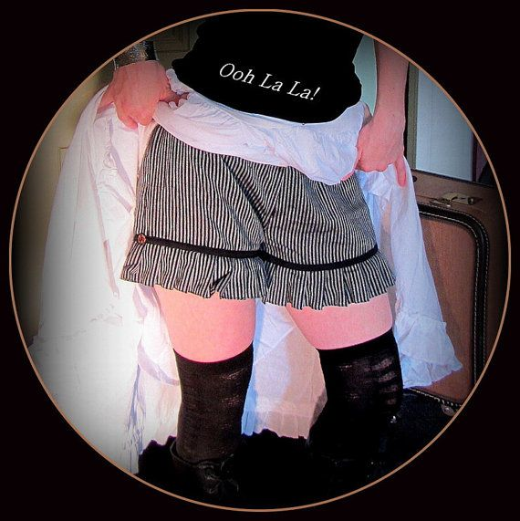 Steampunk Shorts Knickers Bloomers Lolita by TalismanaDesigns
