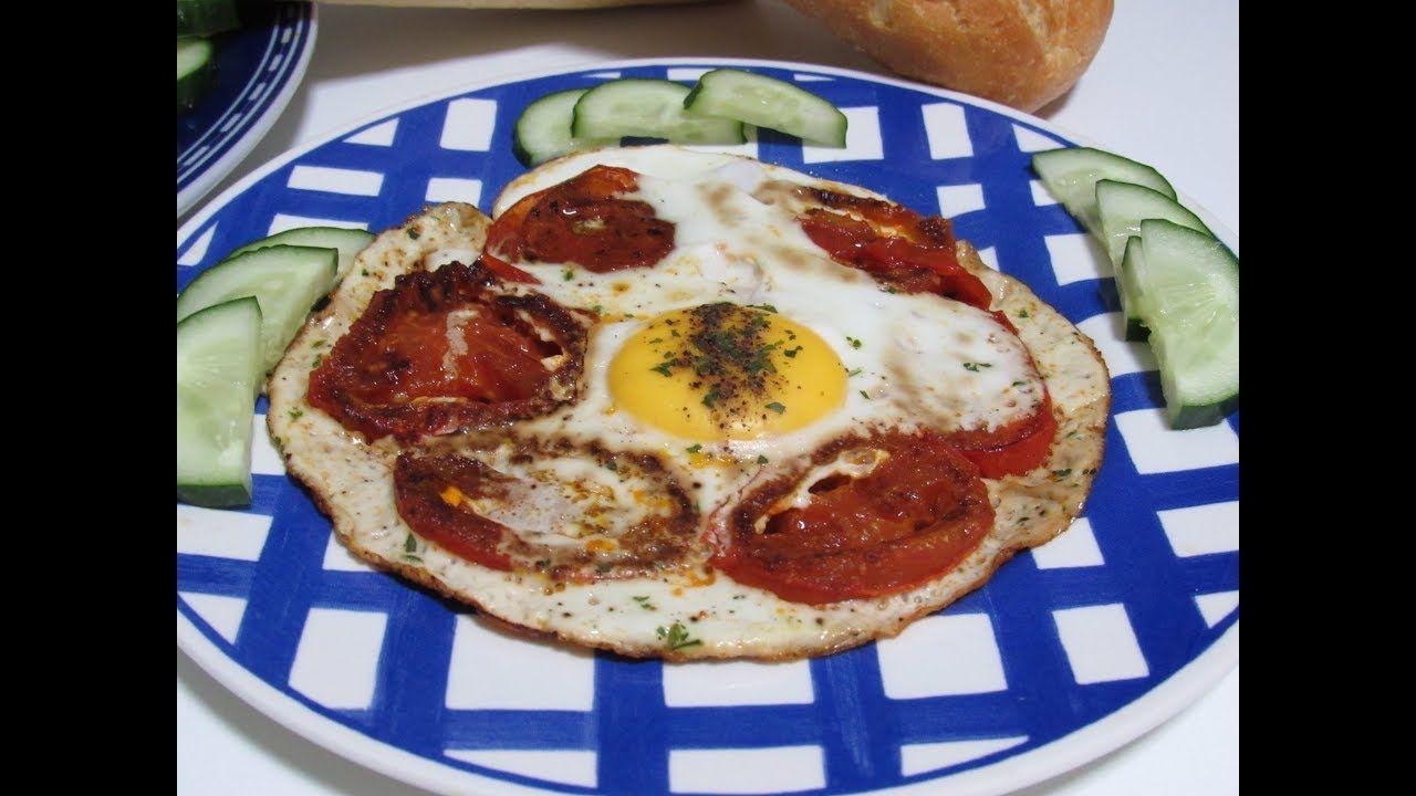 وصفة بيض مع طماطه ولكن Food Breakfast Pepperoni Pizza