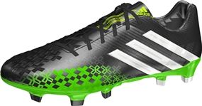 01173bad3b5c Adidas Predator LZ TRX FG Soccer Cleats (Black White Ray Green ...