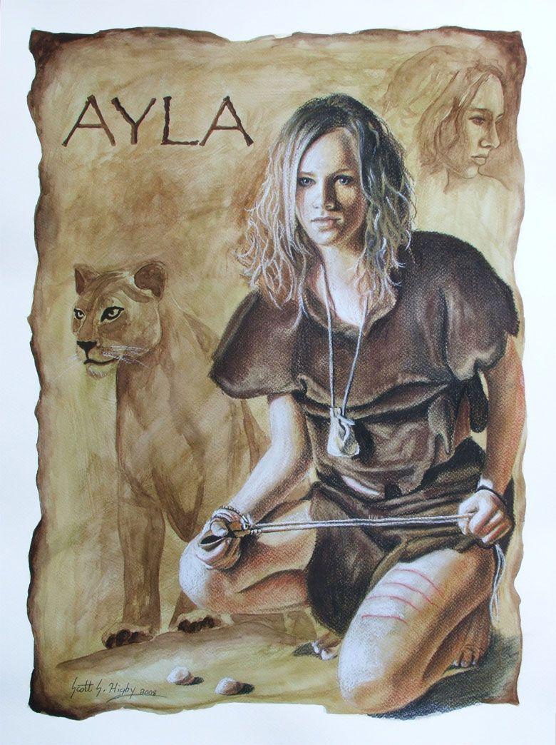Ayla Prehistoires Pinterest Books Jean Auel And Children