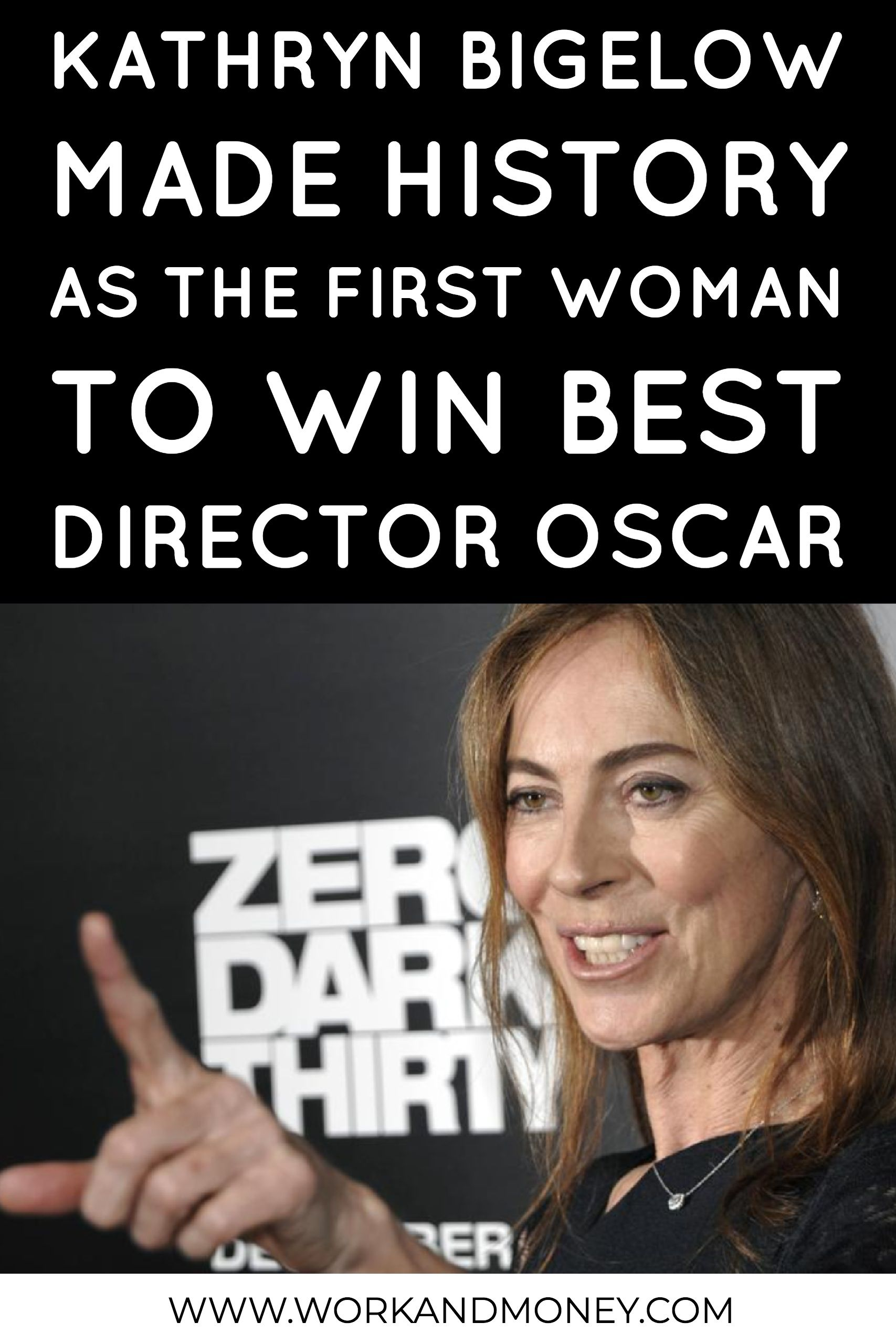Learn more about the first female director to win an Oscar ...