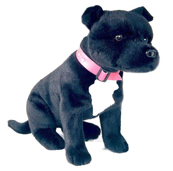 Black STAFFY SOCKS Ladies Mens ANKLE WOVEN Staffordshire Bull Terrier Dog Face