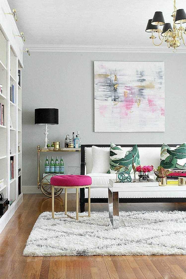 Bar de salon- idées d\'aménagement et décoration pour tout espace ...