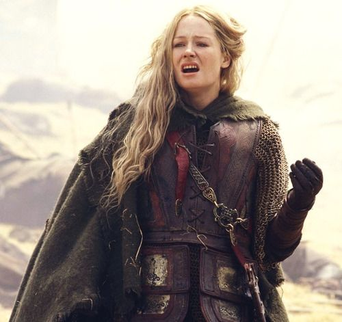 The women of this country learned long ago, those without swords can still die upon them. I fear neither death nor pain. -- Eowyn